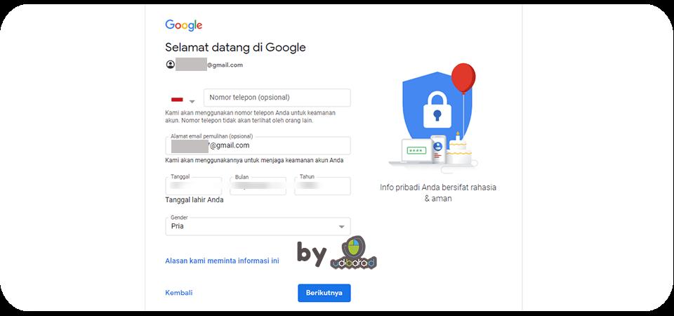 Lihat Cara Privasi Akun Gmail Terbaru